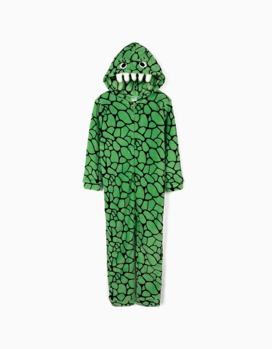 Pijama-Macacão para Menino 'Croc', Verde