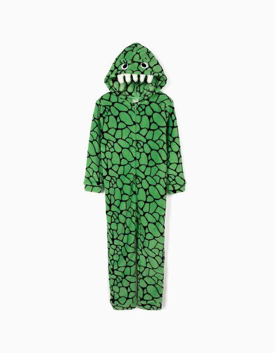 Onesie for Boys 'Croc', Green