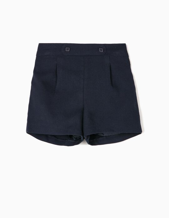 Shorts for Baby Girls 'B&S', Dark Blue