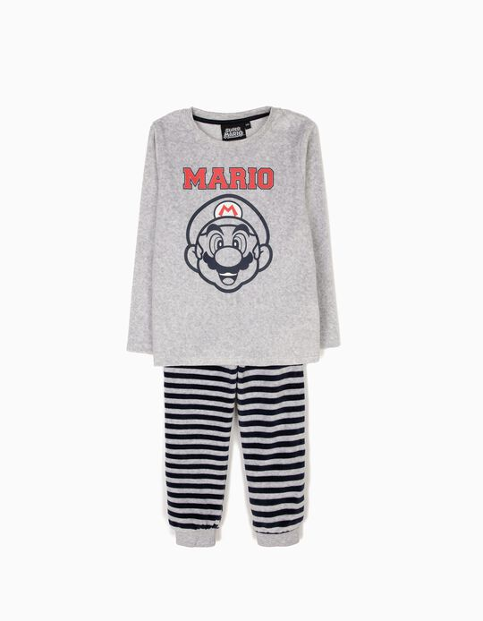 Pijama Veludo Super Mario