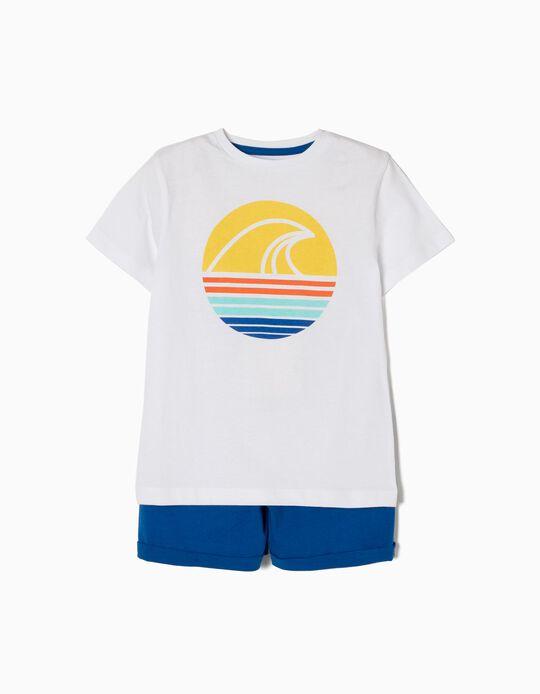 Conjunto T-shirt e Calções Onda