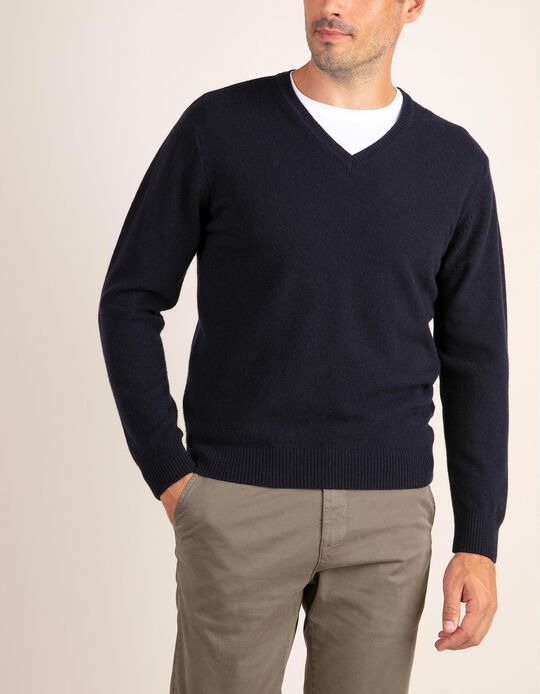 V-Neck Jumper, BabyWool