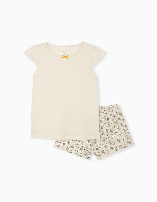 Pyjamas in Organic Cotton, Girls