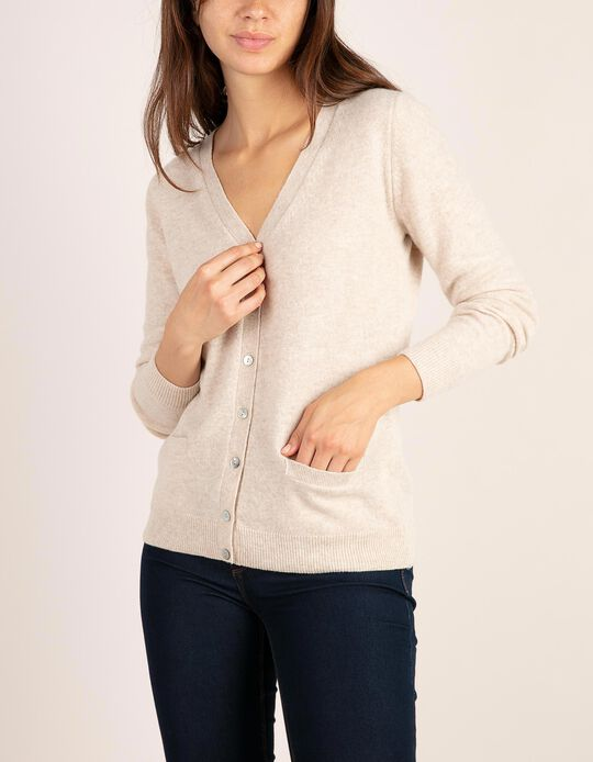 Cardigan in Baby Wool, Essentials