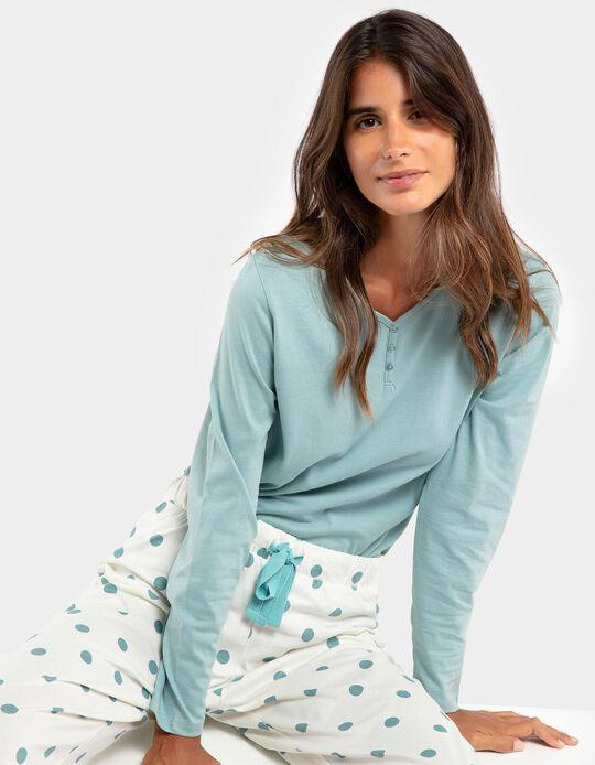 Pijama bicolor bolas