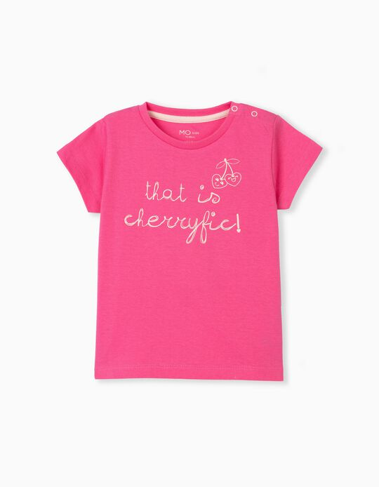 Cotton T-shirt, Baby Girls