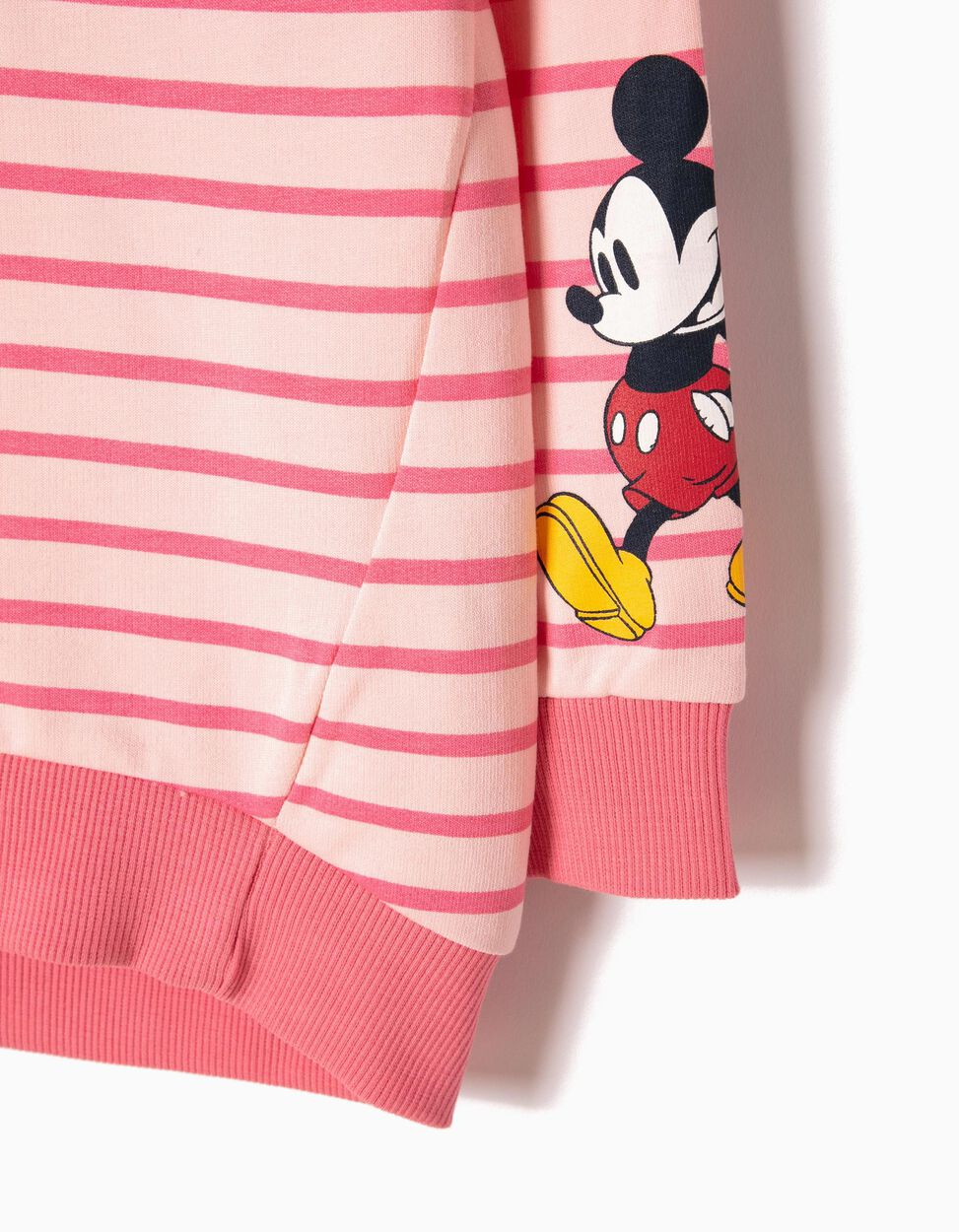 Sweatshirt Riscas Minnie & Mickey