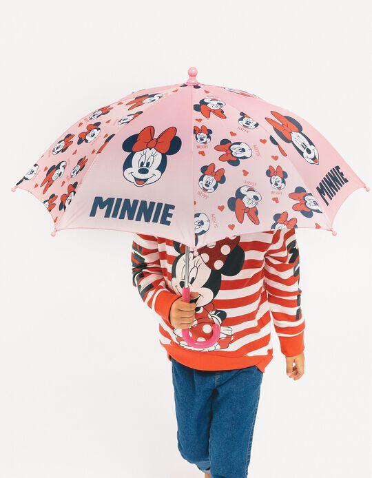 Umbrella for Baby Girls 'Minnie', Pink