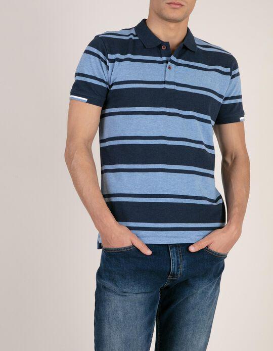 Piqué Polo Shirt, Striped