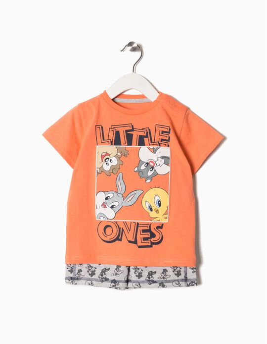 Conjunto T-shirt e Calções Looney Tunes