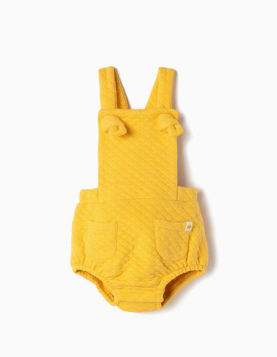 Romper for Newborn, Yellow