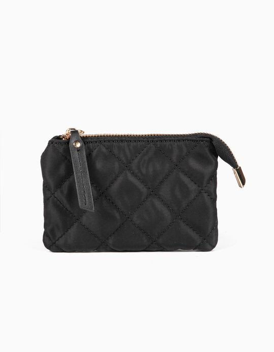 Padded nylon purse