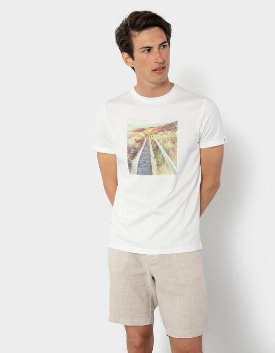 T-shirt in Organic Cotton, Men