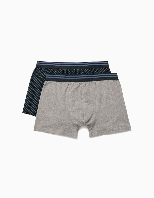 2 Assorted boxer shorts