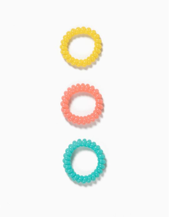 Pack of 3 Spiral Elastic Bands