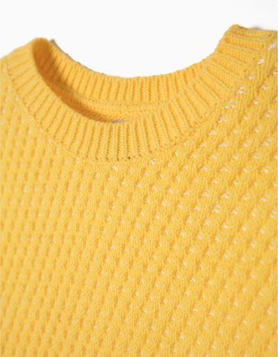 Camisola malha padrão