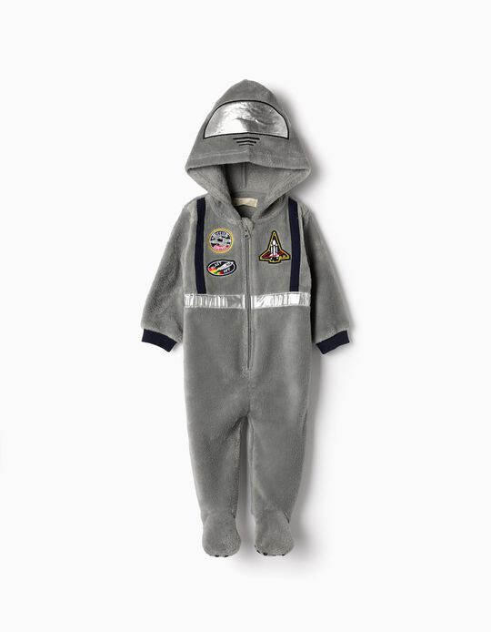 Onesie for Baby Boys 'Astronaut', Grey