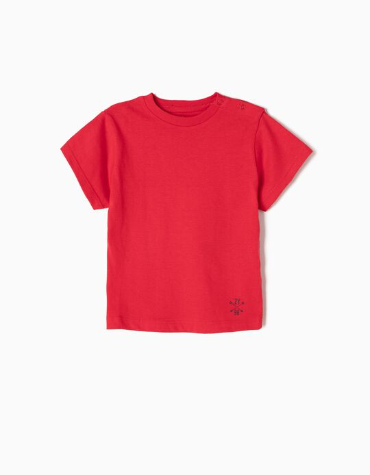 Basic T-Shirt, Red