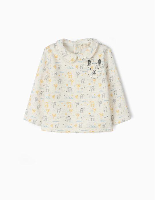 Sweatshirt for Newborn Babies 'Camels', Beige
