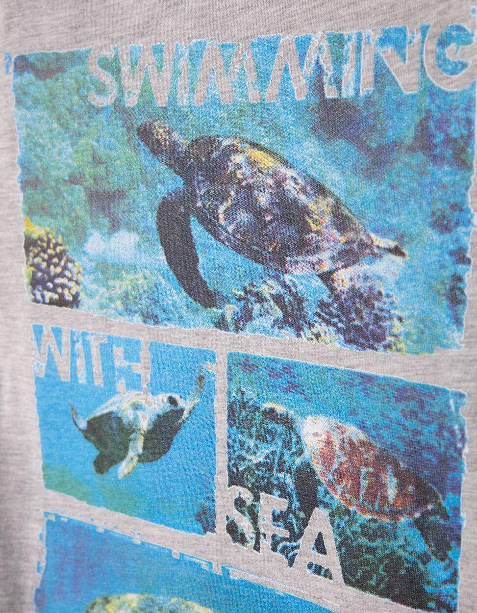T-shirt Ocean Branca