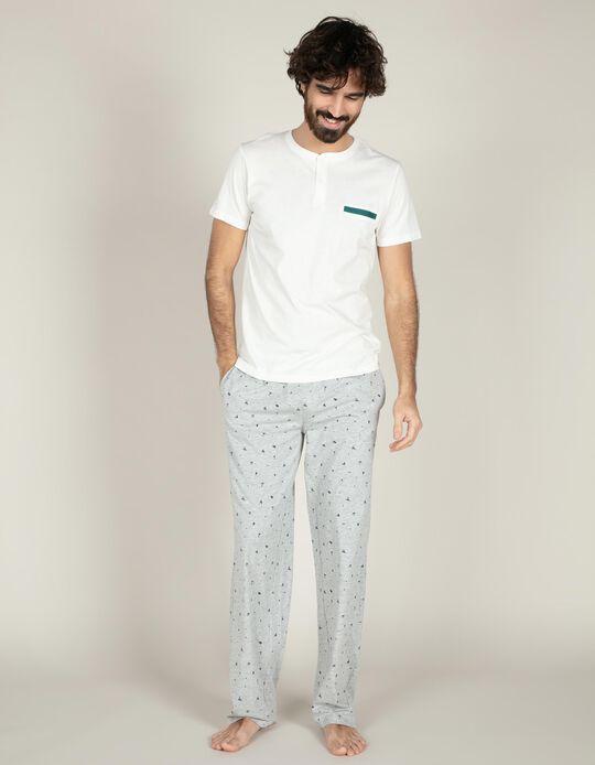 Conjunto de pijama náutico