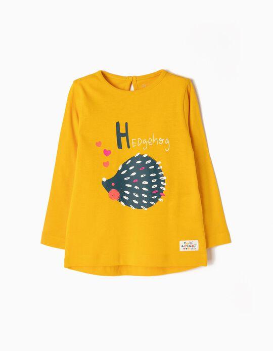 Long-Sleeved Top, Hedgehog