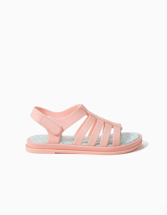 Sandálias para Menina 'Guarda-Sóis', Rosa