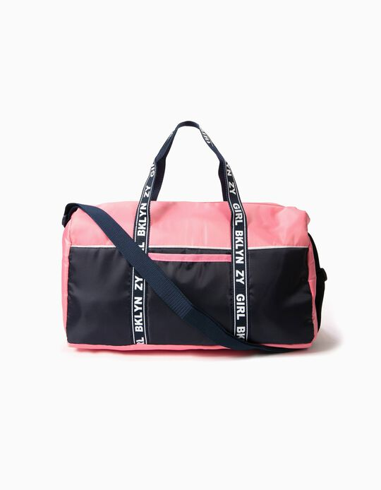 Saco de Desporto Rosa BKLYN ZY GIRL
