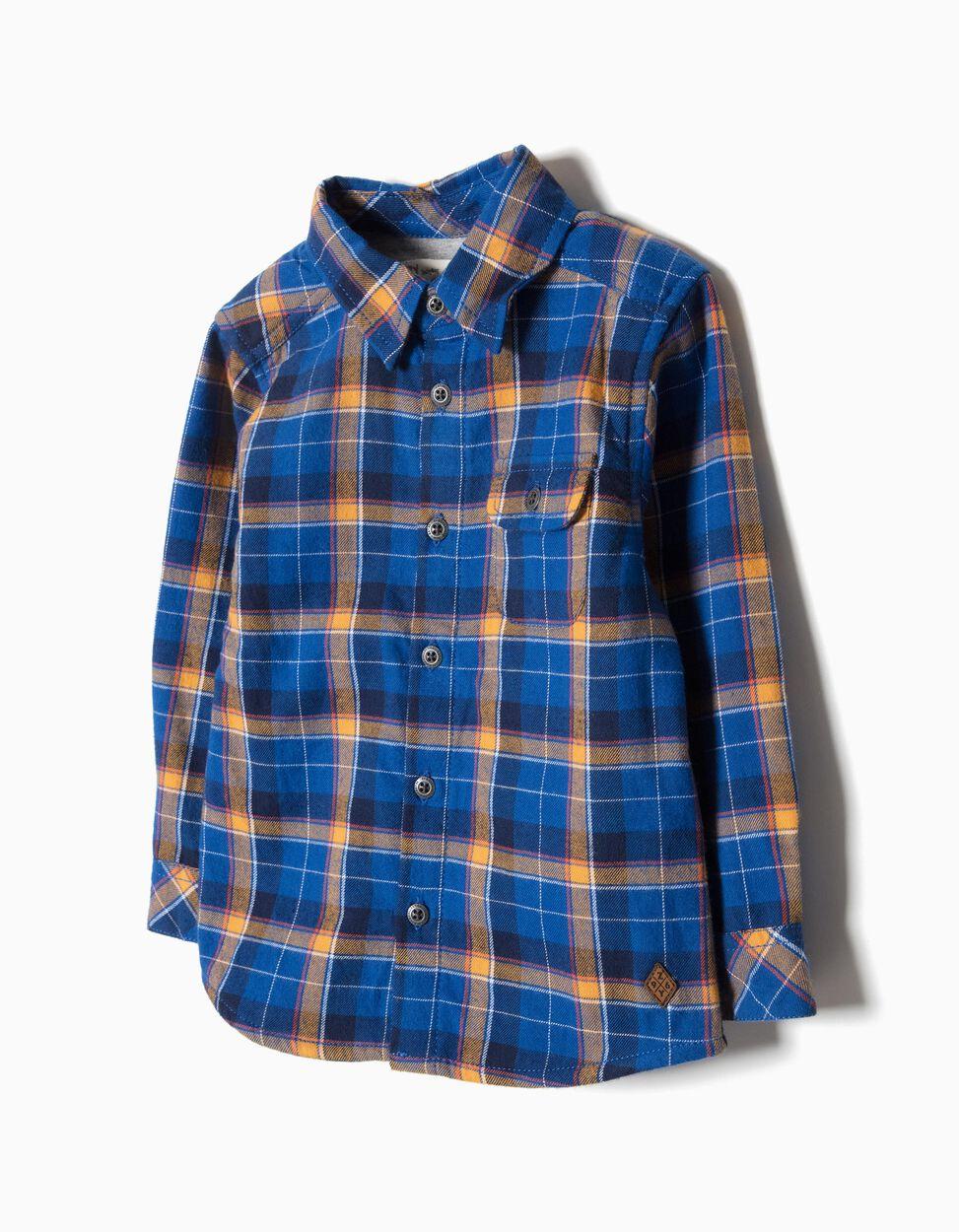 Camisa Xadrez Forrada