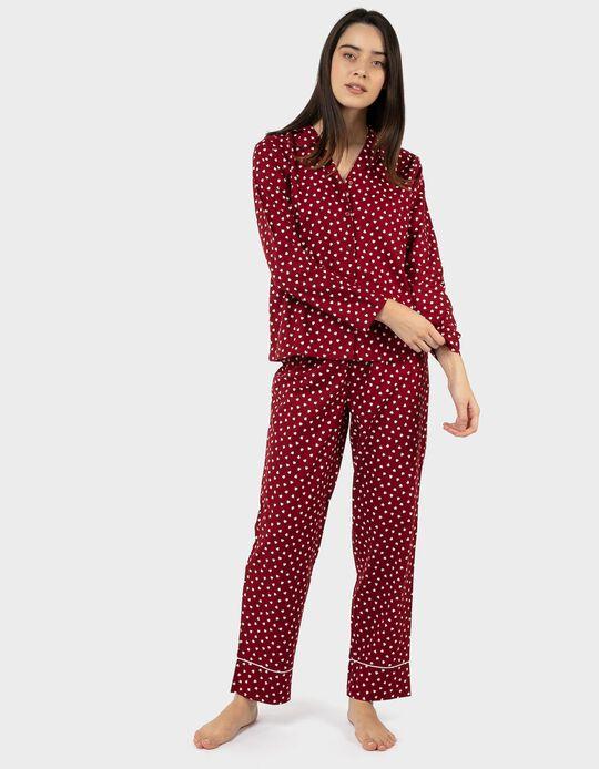 Pijama Camiseiro Corações
