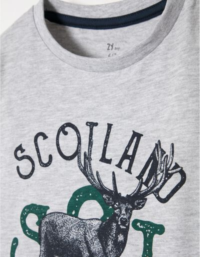T-shirt Manga Comprida Deer