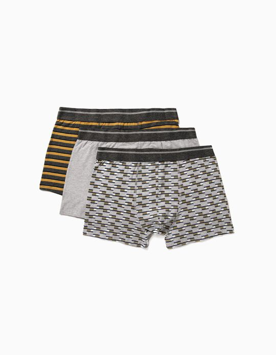 3 Boxer Shorts for Men
