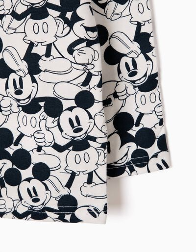 T-shirt Manga Comprida Mickey Mouse