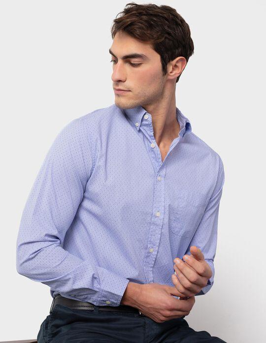 Speckled Slim Fit Shirt