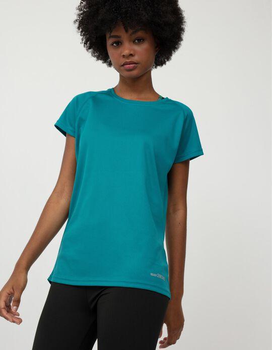 Techno Sports T-shirt for Women, Blue