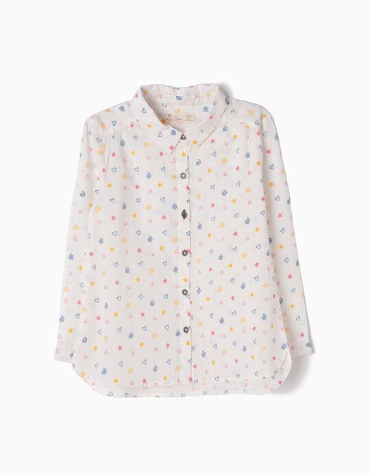 Camisa Corações, Estrelas e Espirais