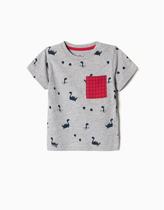 T-shirt Nessie e bolso em tartan