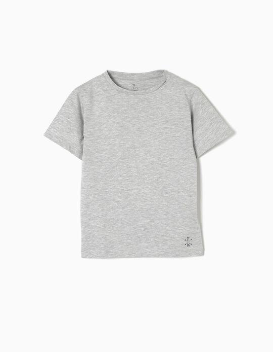 T-shirt Jersey Grey