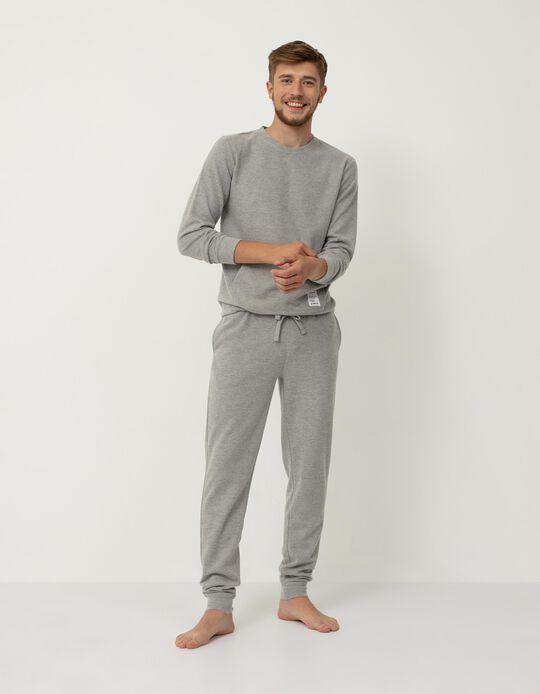 Pijama 'Nomadic Traveller', Homem, Cinza