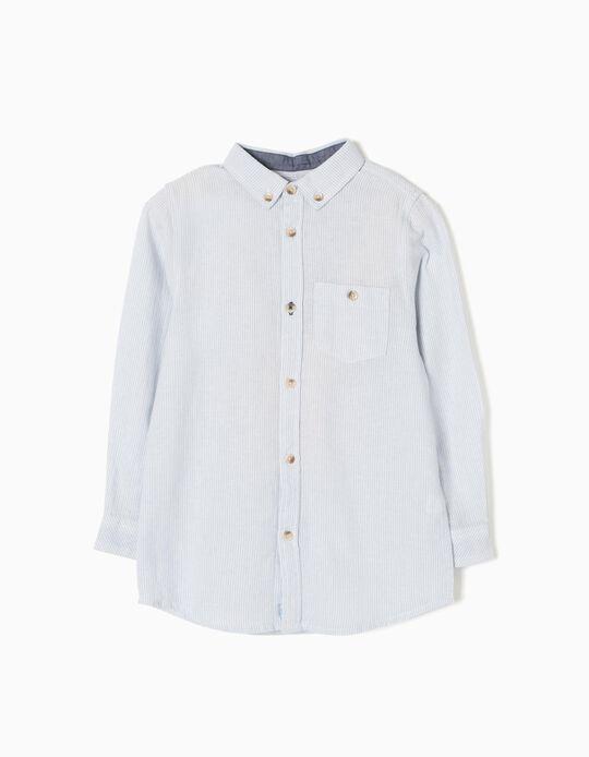 Camisa Herringbone