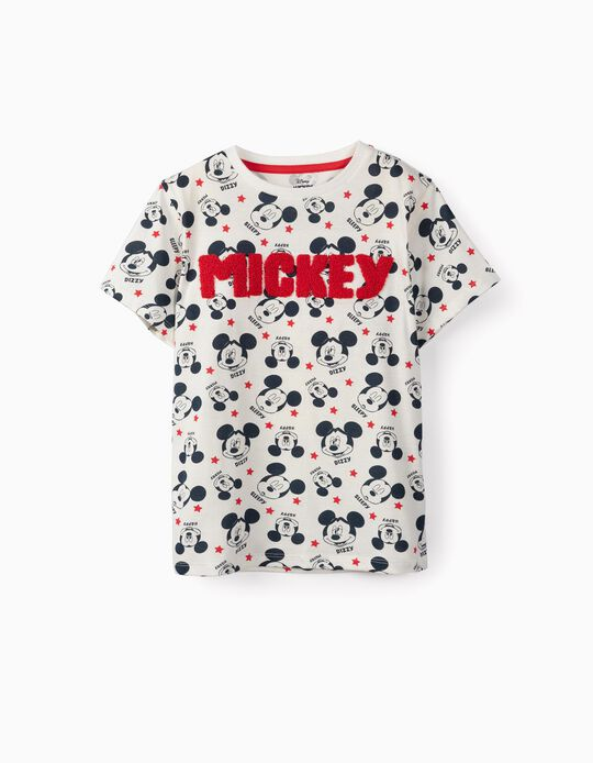 T-shirt for Boys 'Mickey', White