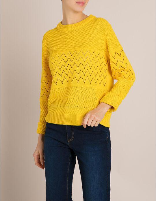 Camisola Malha Amarela