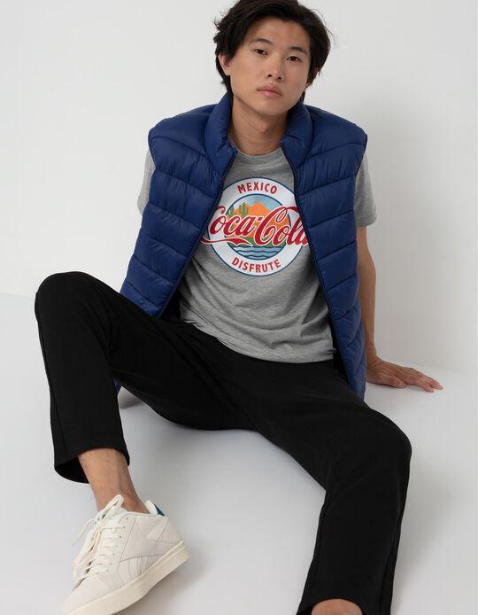 Coca-Cola T-shirt for Men, Grey