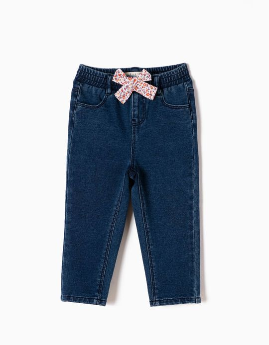 Comfort Jeans with Bow
