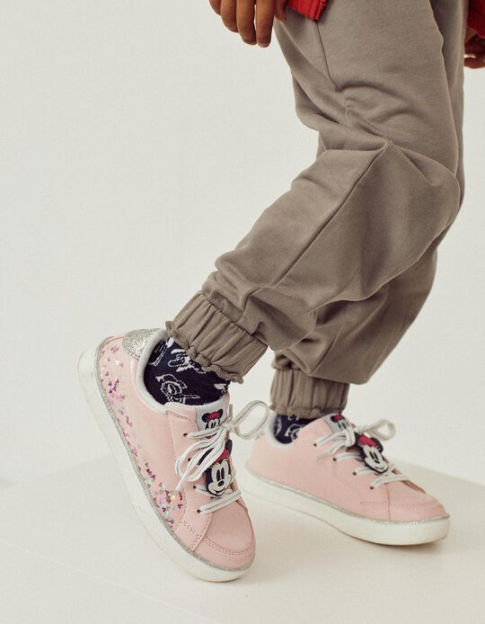 Trainers for Girls, 'Minnie', Light Pink