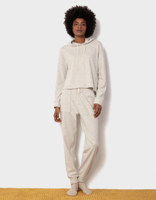 Pijama Suave com Capuz, Mulher