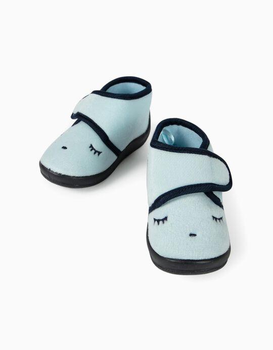 Slippers for Baby Boys 'Sleepy', Blue
