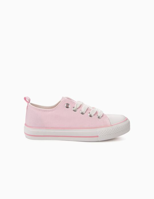 Sapatilhas para Criança '50's Sneaker' com Cordões,  Rosa