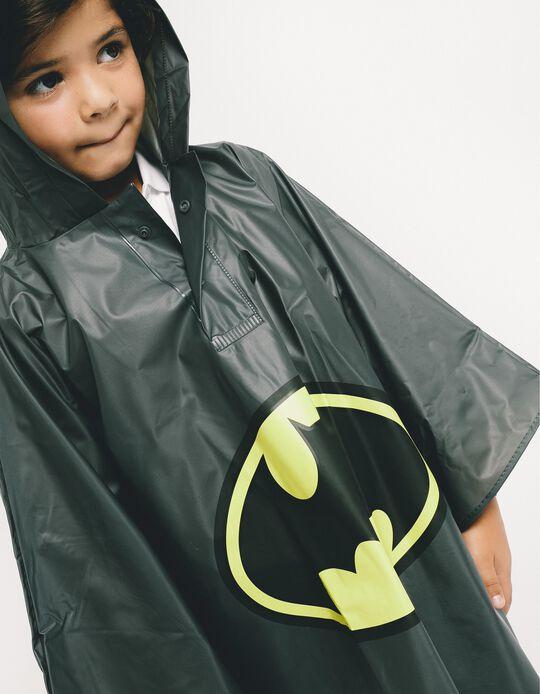Capa de Chuva para Menino 'Batman', Preto