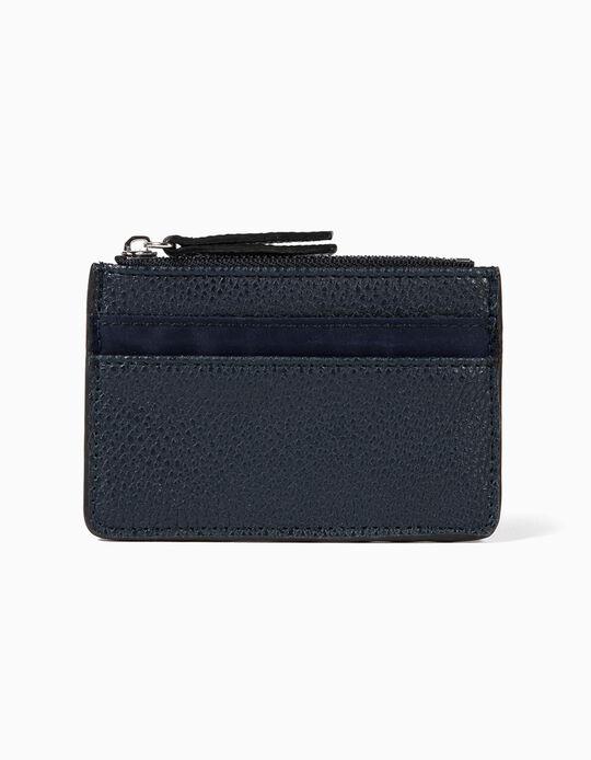 Leather-Effect Cardholder